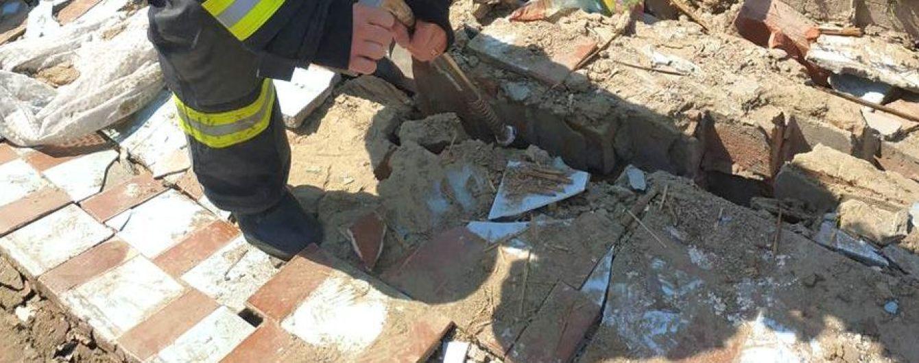 На Полтавщине вследствие разрушения стены здания погибли двое человек
