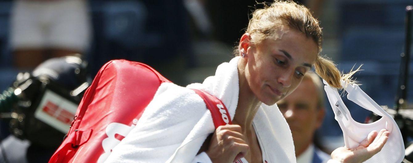 Цуренко знялася з другого поспіль турніру та опуститься в рейтингу WTA