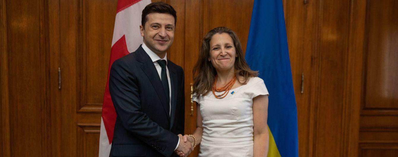 Зеленский встретился с главой МИД Канады: о чем они говорили