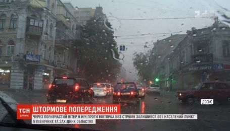 На западе и севере Украины прогнозируют дожди, грозы с градом и шквалистый ветер