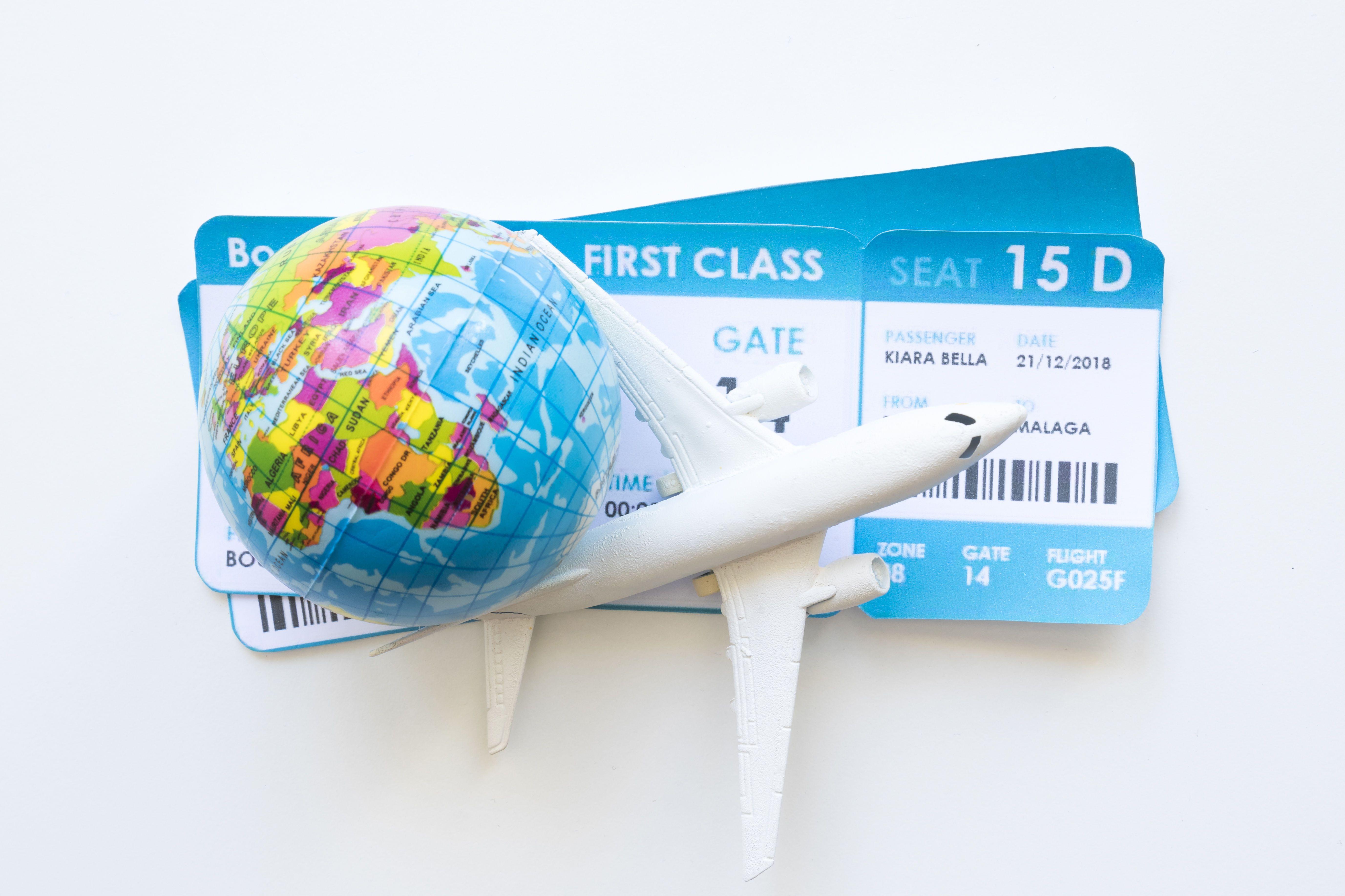 Літак, квитки,
