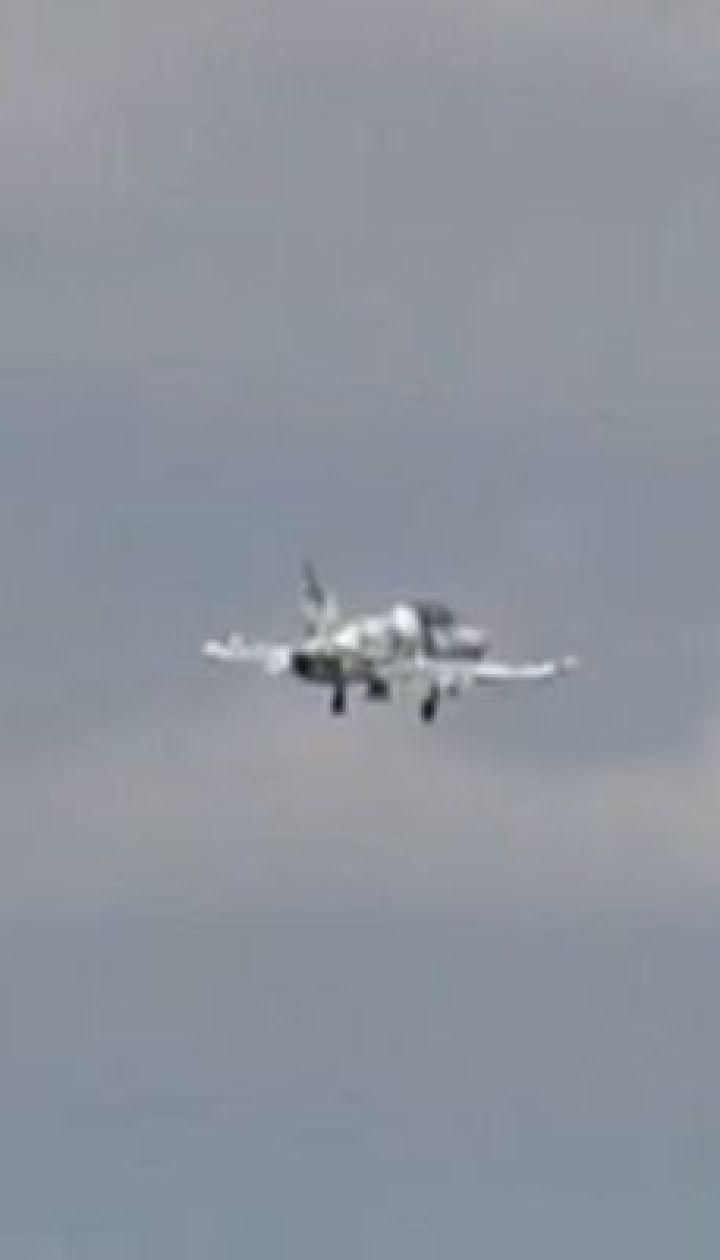 Возле Чугуева на Харьковщине упал учебно-тренировочный самолет Л-39