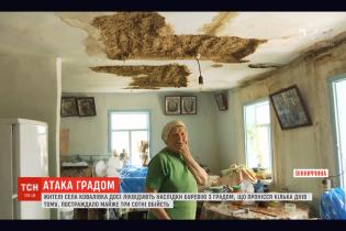 Разрушенные дома и уничтоженный урожай. В Винницкой области подсчитывают нанесенный стихией ущерб