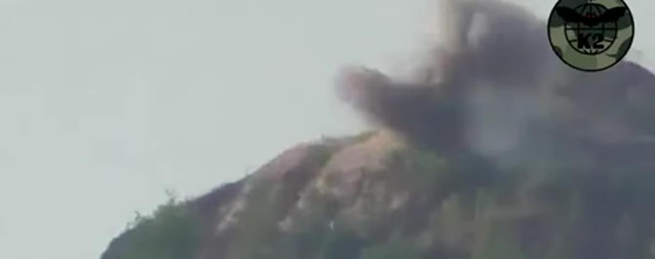 """""""За наших медиков"""". Волонтер обнародовал видео уничтожения """"гнезд"""" террористов"""