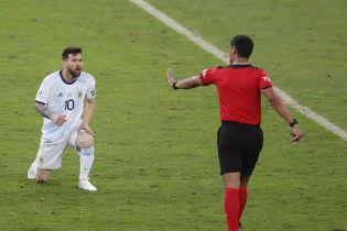 """Мессі розкритикував суддівство у матчі з Бразилією і назвав його """"г*вном"""""""