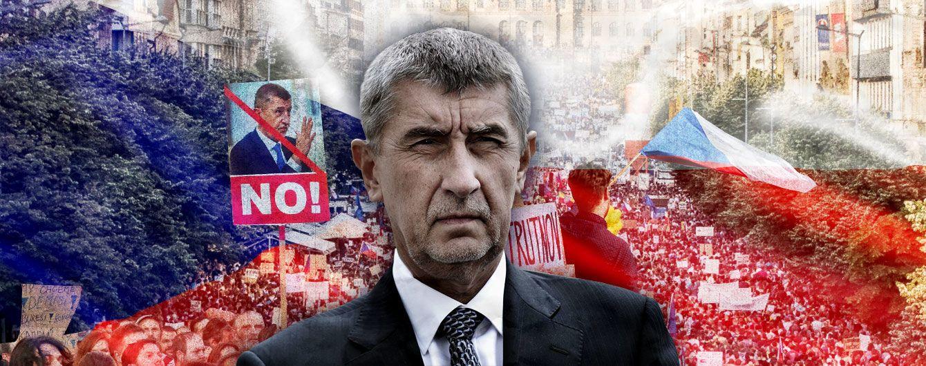 Протесты в Праге: что стоит за цифрами