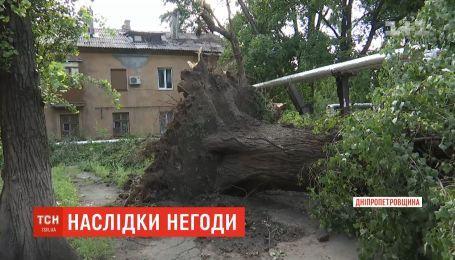 Кривой Рог оправляется от разрушительного шторма