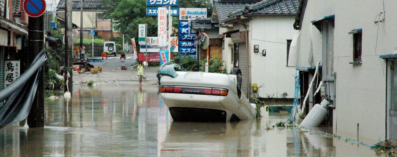 Более миллиона японцев эвакуируют из-за мощных ливней