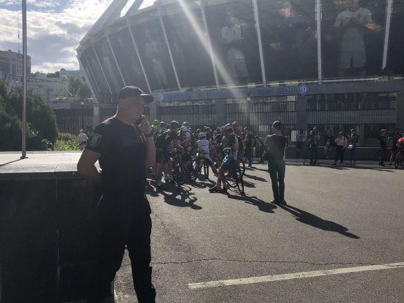 Акція протесту проти Башенка