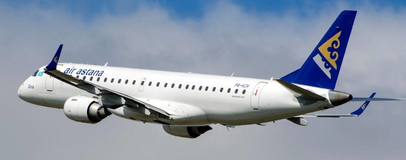 Air Astana получила новый A320neo, который будет летать в Киев