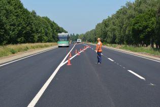На Вінниччині завершили ремонт міжнародного шосе. Відео