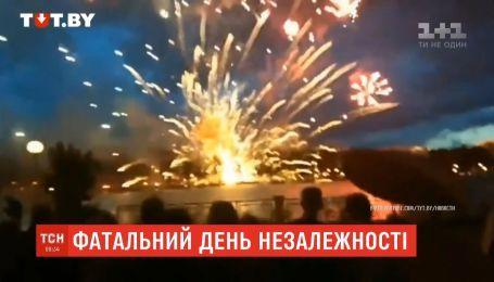 В Минске во время шоу с салютом ко Дню независимости погибла женщина