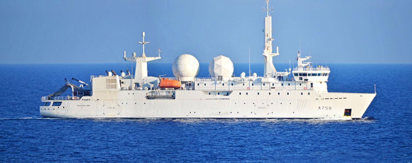 В Черное море зашел французский корабль-разведчик