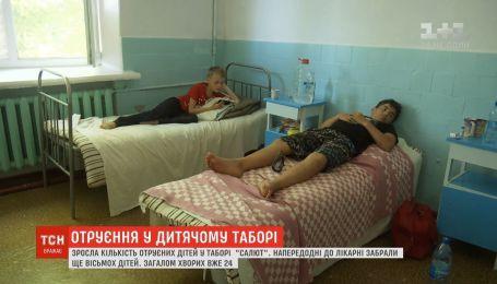 """Возросло количество пострадавших детей в лагере """"Салют"""" в Коблево"""