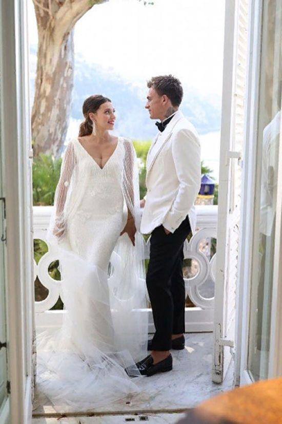 Зворушливі обітниці та запальний танець: як минуло італійське весілля Тодоренко та Топалова