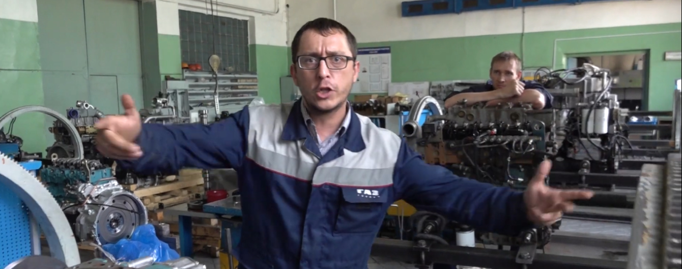 """На заводе """"ГАЗ"""" в России сняли реп-клип против американских санкций"""