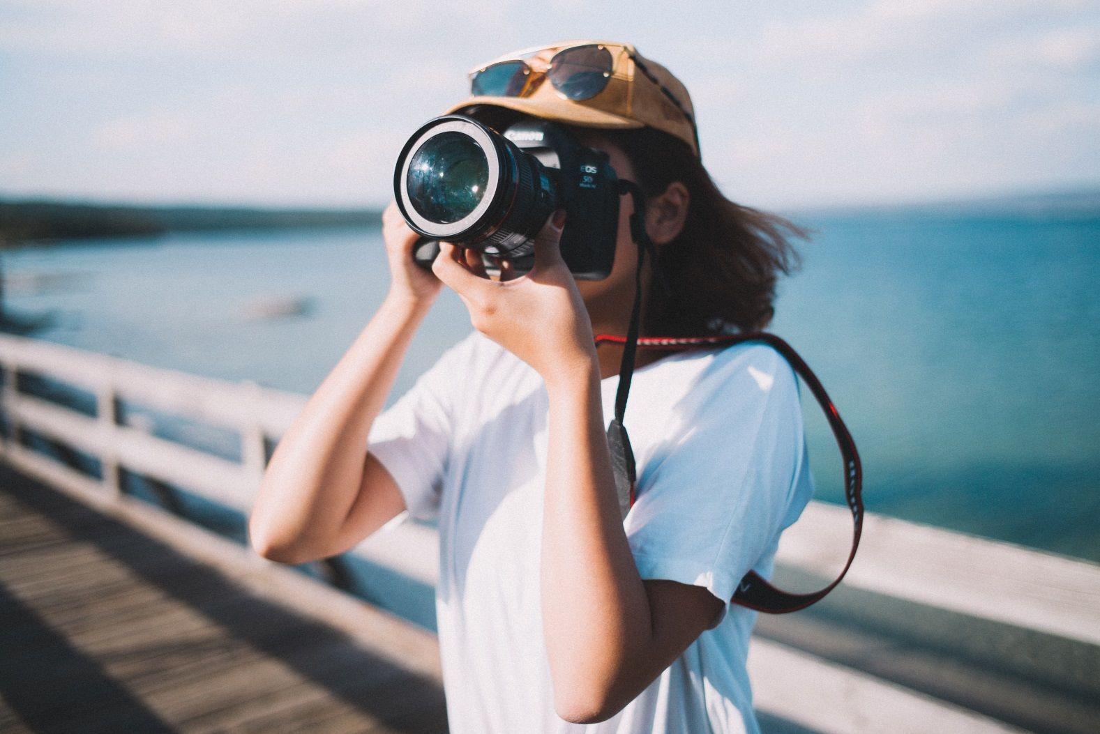 турист фотограф камера
