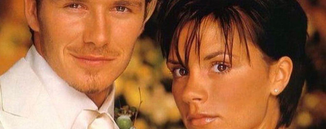 А было, как вчера: Дэвид и Виктория Бекхэм празднуют 20-ю годовщину со дня свадьбы