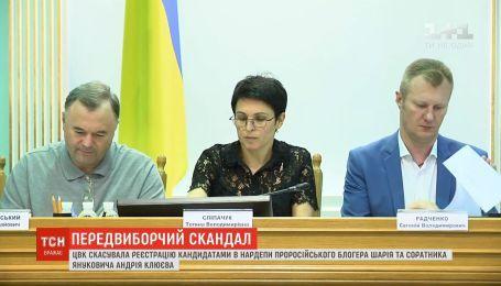 ЦИК сняла с выборов одиозных кандидатов - Клюева и Шария
