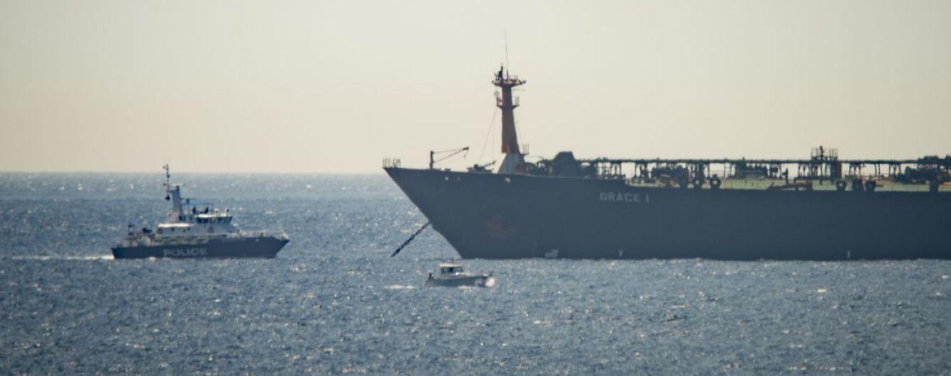 Великобритания задержала танкер Ирана, который в обход санкций мог перевозить нефть в Сирию