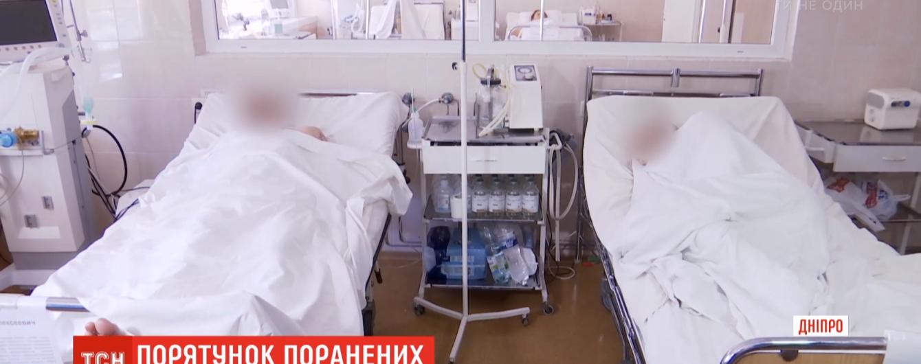 В Днепре медики борются за жизнь двух тяжелораненых бойцов