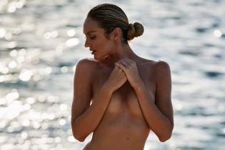 Топлес на пляже: Кэндис Свэйнпоул показала, чем планирует заниматься летом
