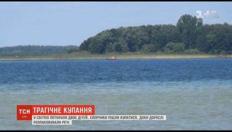 На озере Свитязь утонули двое детей со Львовщины