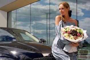 Екатерина Осадчая приобрела автомобиль легендарного британского бренда