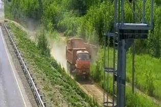В России показали, как бороться с пунктами взвешивания фур. Видео