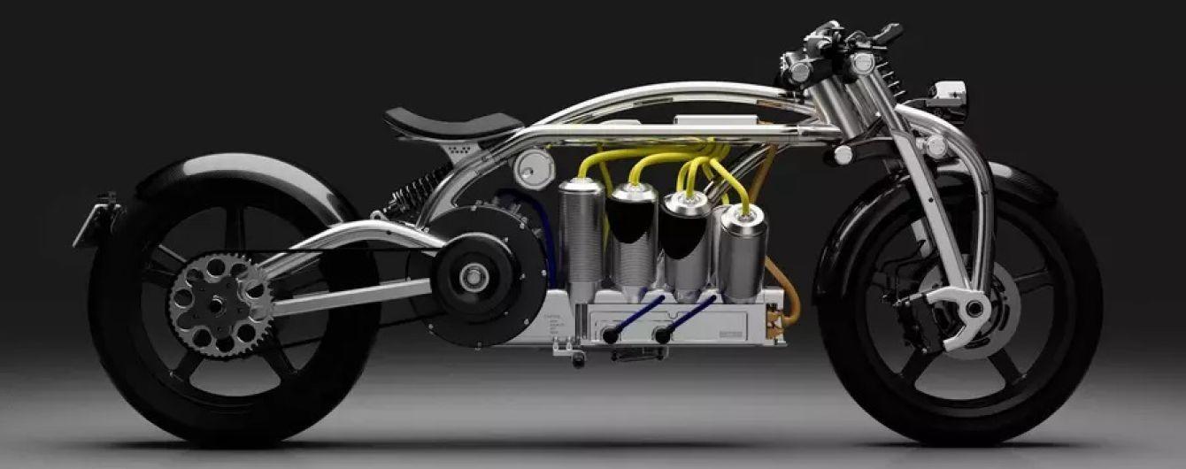 З'явився швидкісний електробайк з батареями у стилі двигуна V8
