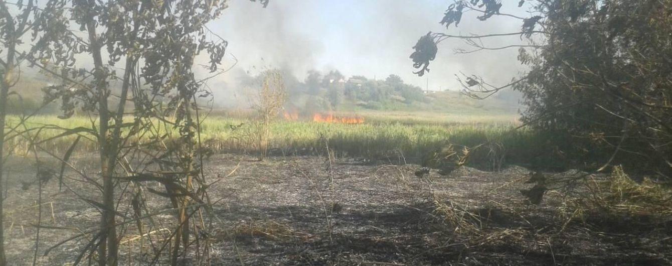 В горевших камышах в Харьковской области нашли тело мужчины