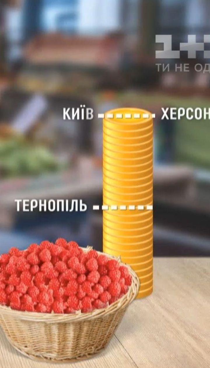 Инспекция ТСН: сколько стоят фрукты и ягоды в разных уголках Украины