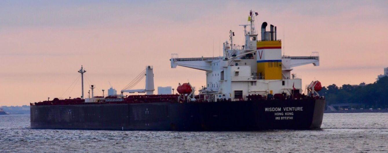 В Одессу впервые в истории Украины доставили партию нефти из США