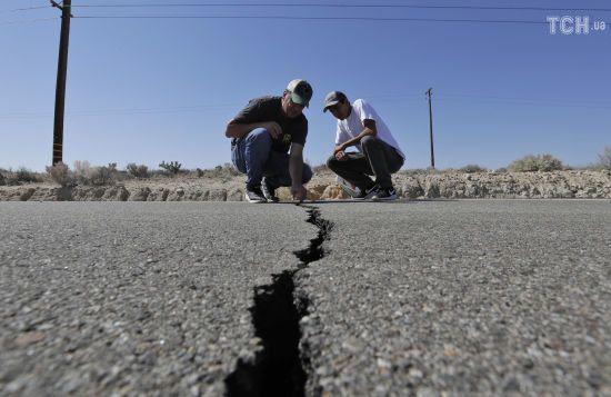 Сейсмологи прогнозують нові землетруси в Каліфорнії