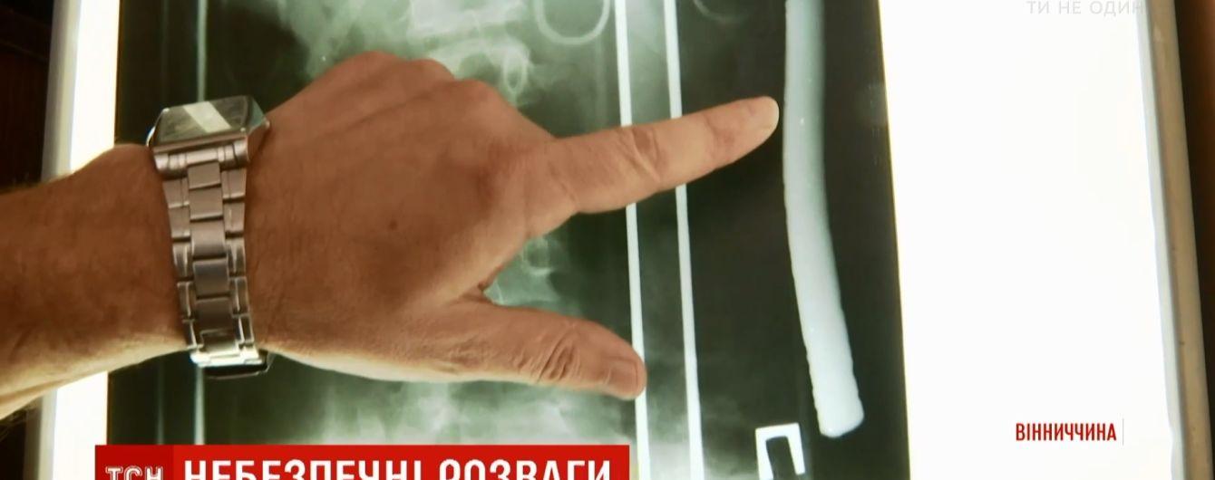 На Винниччине прооперировали 13-летнего парня, который накололся на арматуру во время купания в Днестре