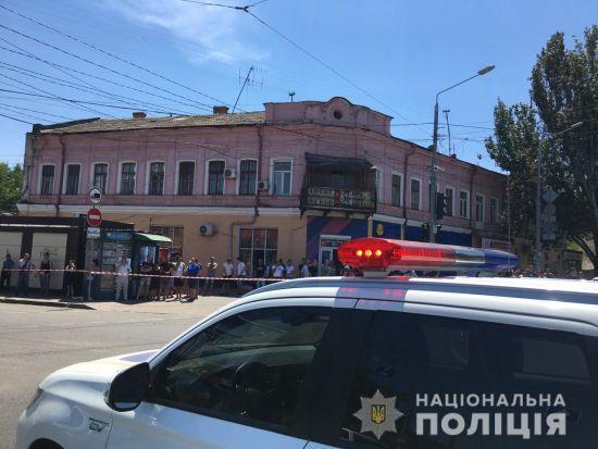 В Одесі захопили в заручники працівниць фінустанови