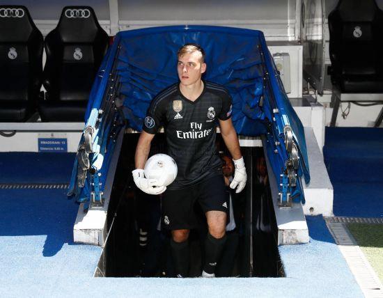 """Лунін буде другим воротарем """"Реала"""" в наступному сезоні - Marca"""