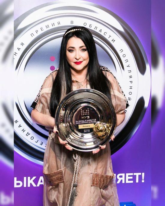 Співачка Лоліта виступила в окупованому Донецьку