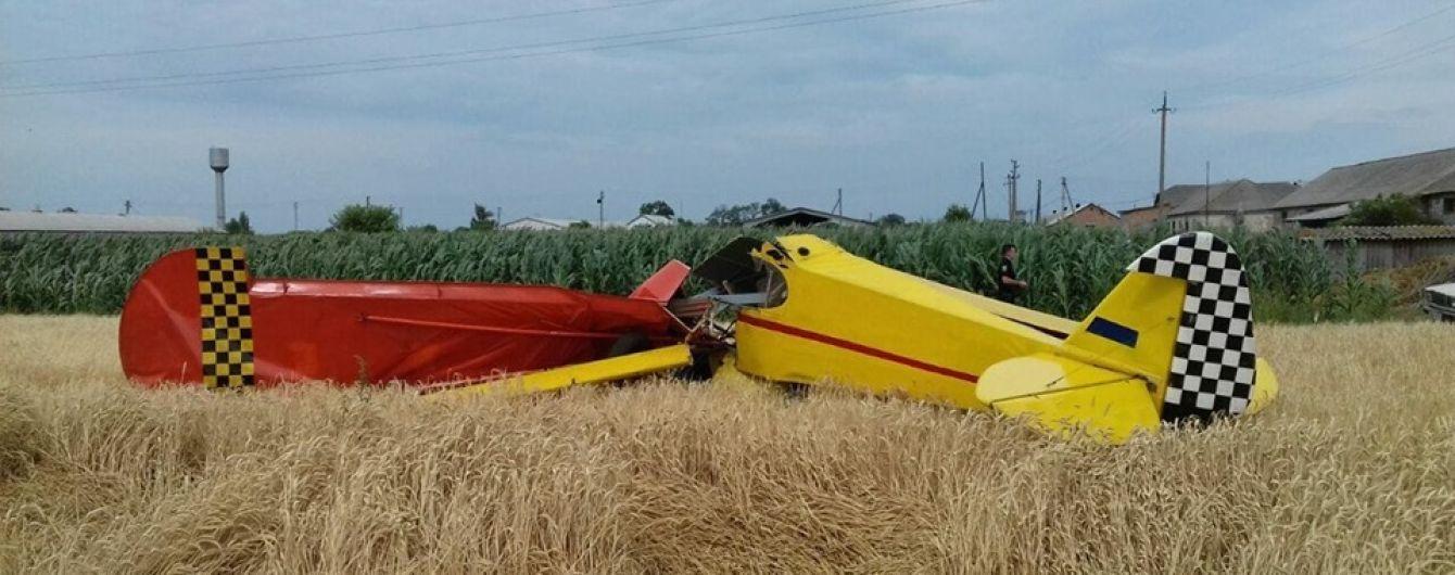 На Полтавщине разбился легкомоторный самолет - есть погибшие