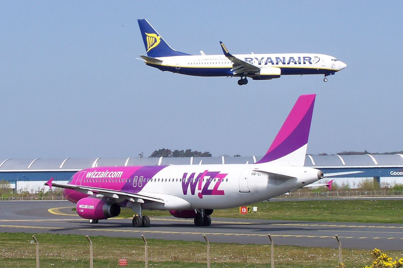 Ryanair і Wizz Air