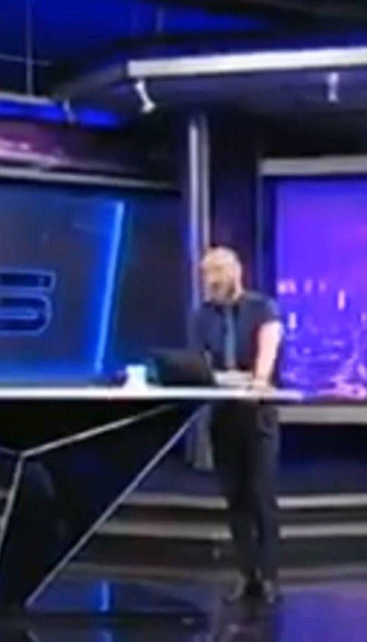 """Ведущий грузинского телеканала """"Рустави-2"""" обругал Путина в прямом эфире"""