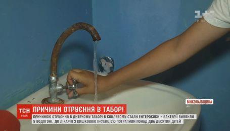 """Грязная вода стала причиной массового отравления детей в лагере """"Салют"""""""