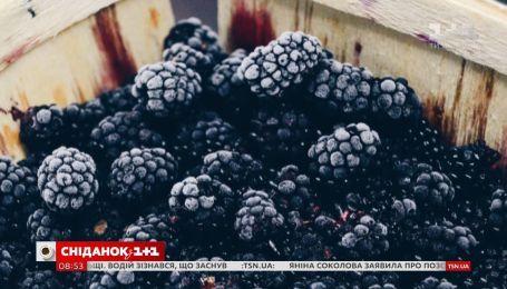 """Які ягоди найкорисніші - ТОП-5 від """"Сніданку"""""""