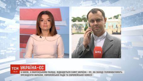 На саммите Украина - ЕС обсудят возможное продолжение санкций против РФ