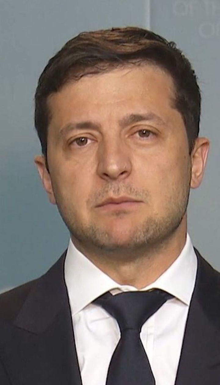 """Реакция президента Зеленского на вероятное проведение телемоста между """"Россия-1"""" и NewsOne"""