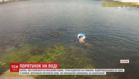 Херсонские патрульные спасли женщину из воды, криков которой не слышали отдыхающие