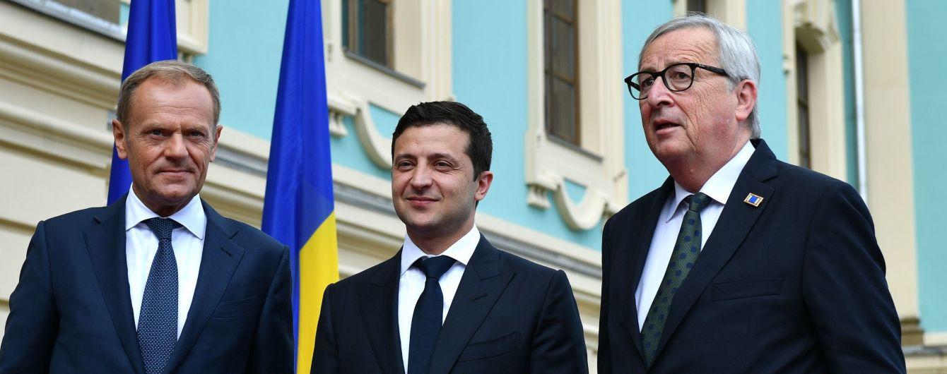 В Киеве стартовала встреча Зеленского, Юнкера и Туска в узком кругу
