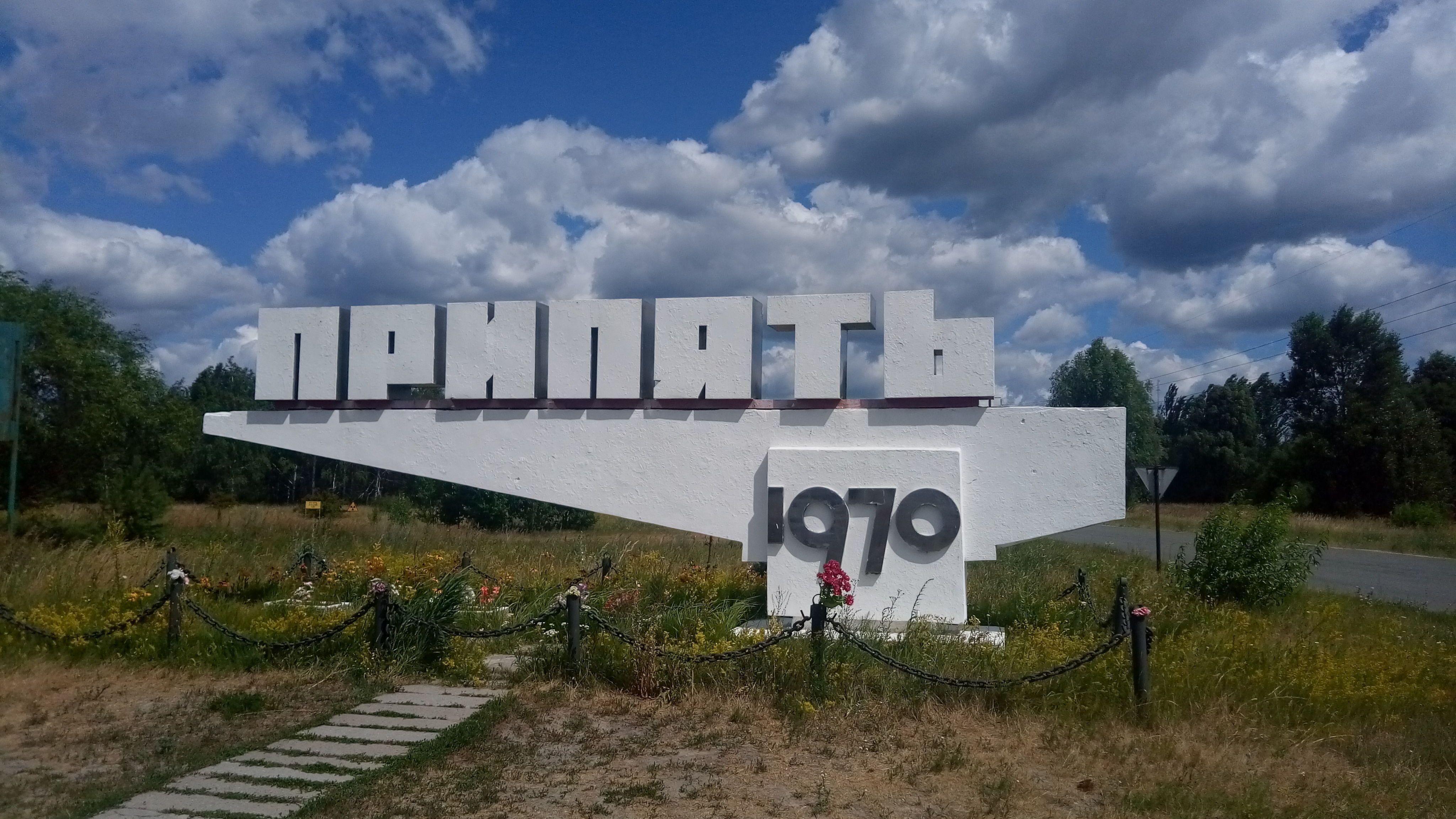 Прип'ять, Чорнобиль