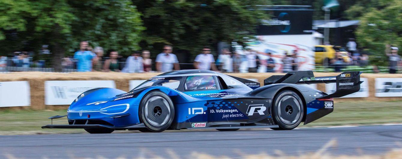 Невероятно. Электрокар Volkswagen побил рекорд Формулы-1
