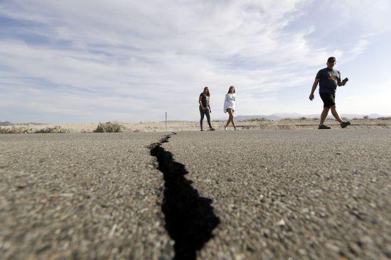 В американському штаті Невада стався потужний землетрус